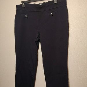 Style & Co Black Stretch Pants - 3X Woman Petite